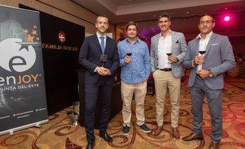 Ignacio Sarmiento, Santiago Deicas, Javier Azcurra y Darvry Amaro