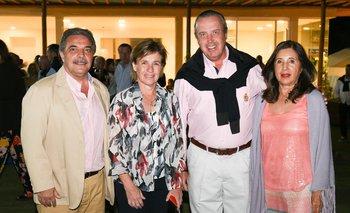 Omar Rey, Mariela Clavijo, Federico Bueker y Olga Izaguirre