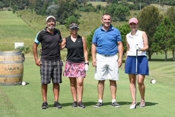 Carlos Severo, Ana Castillo, Alfredo Sena y Cecilia Orlando