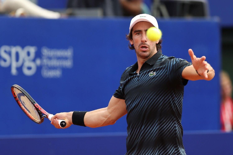Bagnis, el primer eliminado — Argentina Open