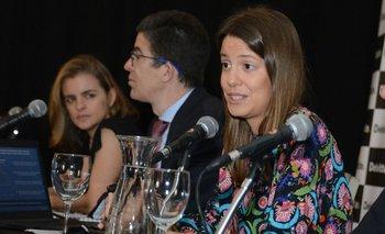 Tamara Schandy, Pablo Rosselli y Florencia Carriquiry