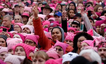 La marcha de las Mujeres fue convocada en Washington, D.C. el 21 de enero de 2017