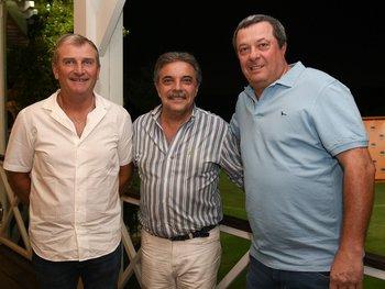 Daniel Fontanarrosa, Omar Rey y Federico Slinger