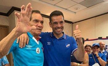 Manga y Coco Conde en Miami, donde el brasileño visitó a una delegación tricolor