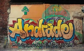 Graffiti de Pleff, como firmaba Felipe Cabral