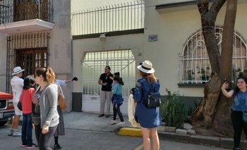 Diariamente entre 50 y 100 personas visitan la casa donde se filmó Roma.
