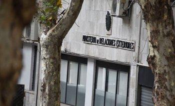 Fachada del Ministerio de Relaciones Exteriores en Uruguay