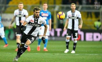 Nicolás Schiappacasse debutó en Parma, por la Serie A de Italia