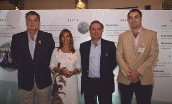 Horacio Fernández Ameglio, Paulina Effinger, Gerardo Zambrano y Guzman Nión