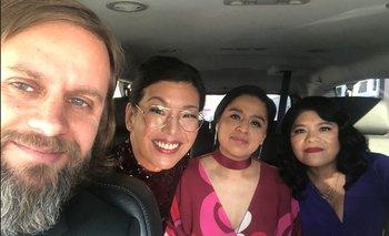 Saravia de camino a los Oscar