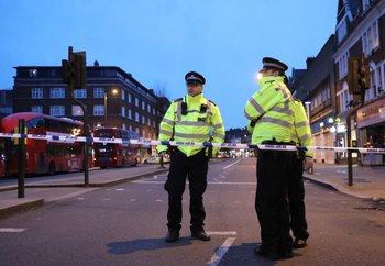 La policía de Londres