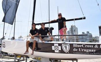 Agustin Rodríguez, Marcelo Alzola y Aldo Chiappini