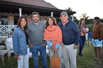 Mercedes Sanchez Varela, Andres Lafluf, Pilar Martinez y Miguel Arocena