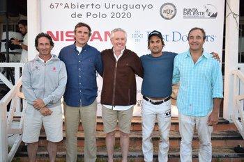 Aparicio Oddo, Alexis Boismenu, Horacio Stirling, Mauricio Sanchez y Valentin Martínez