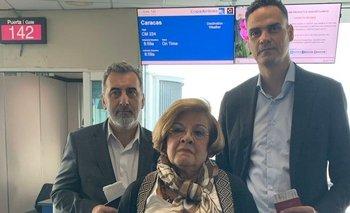 El relator especial para la Libertad de Expresión de la CIDH, Edison Lanza, la comisionada Esmeralda Arosamena y el secretario ejecutivo de la CIDH, Paulo Abrao