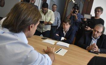 Lacalle se reunió con Alonso y Casales en febrero de 2020, antes de asumir como presidente
