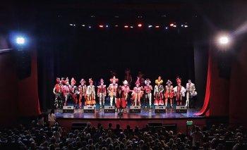 Carnaval en el teatro del Movie.