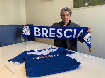 Diego López fue presentado como nuevo técnico de Brescia