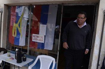 Aníbal Pereyra, intendente de Rocha, un día después de haber ganado las elecciones departamentales de 2015