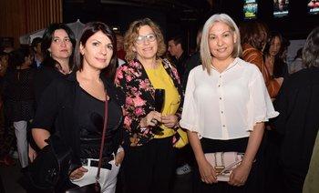 Daniela Bouret, Susana Rostagnol y Carla Espinosa