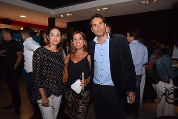 María Eugenia Manta, María Elisa Gil y Nicolás Manta