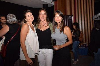 María Eugenia Mayans, Valeria Baron y Natalia Courdin