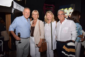 Roberto Barcos, Silvia Rojo, Adele Chiesa y Germán Russo
