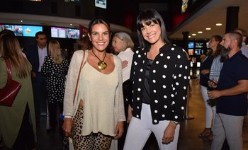 Victoria Rodríguez y Eunice Castro