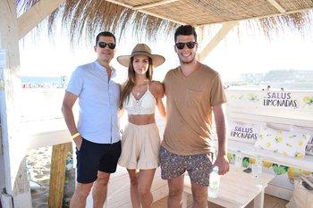 Jordi Carrión, Martina Graf y José Abdala