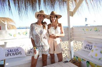 Nadia Theodulos y Martina Graf