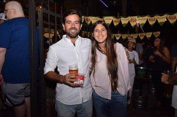Carlos Uriarte y Nina Marques