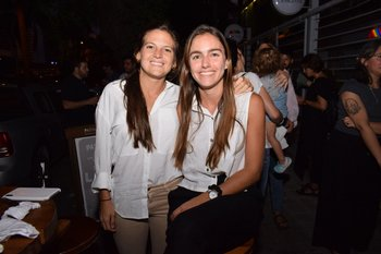 Faustina Alonso y Agustina Cordone