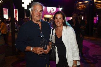 Gerardo Amorín y Andrea Minutti