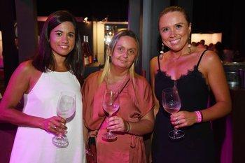 Mariana Raurich, Carolina Pallas y Natalia Castiglioni