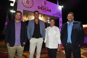 Santiago Deicas, Javier Azcurra, Magali O'Neill y Fernando Deicas