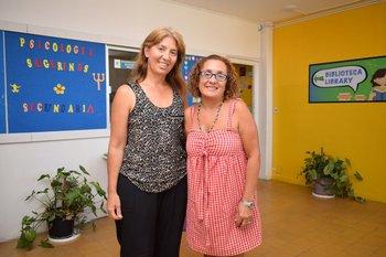 Verónica Niche y Joseline Gatto