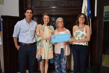 Manuel Rodríguez, Patricia Álvarez Harvey, Mónica Leon y Adriana Díaz