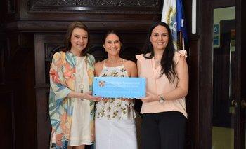 Patricia Álvarez Harvey, Martha Caviglia y María Inés Molinas