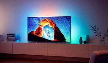 Smart TV Philips con tecnología OLED.