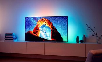 Smart TV Philips con tecnología OLED.