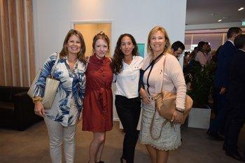 Laura Regodeseves, Gabriela Balbuerg, Raquel Hernández y Monica Leites