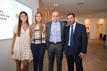 Magdalena y Lucia Martínez, Agustin Morango y Alfredo Torres