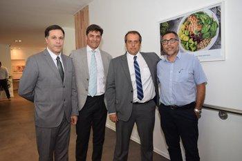 Carlos Quintero, Daniel Ubillos, Gerardo Barcos y Oscar Bazzino