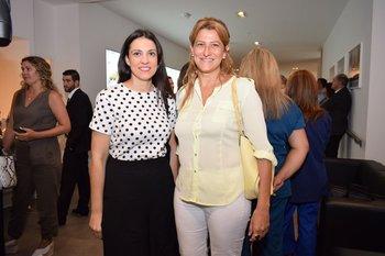 Fernanda Fernández y Andrea Carzoglio