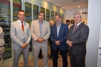 Gastón Oromi, Carlos Scherchener, Jorge Gandini y Dario Gebelin