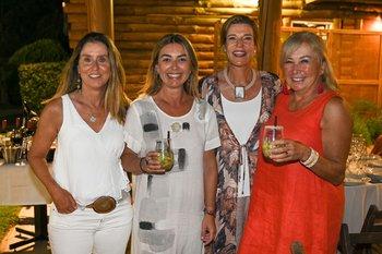Inés Leborgne, Tati Paz, Carolina Vera y Lucila Vila Moret