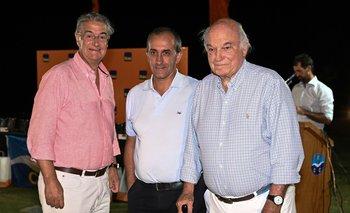 Horacio Vilaró, Sergio Tabeira y Peter Stanham
