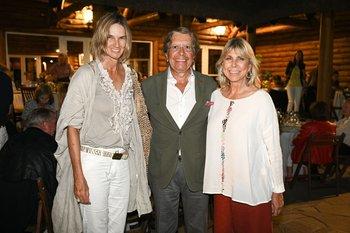 Janina Kook, Arturo García Rosa y Claudia Sojo