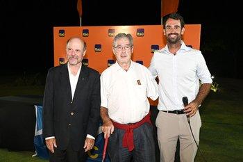 Velio Sapano, Fernando Crispo y Rafael Rodríguez Larreta