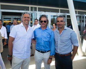 Roberto Behrens, Gonzalo Morassi y Ignacio Albanell